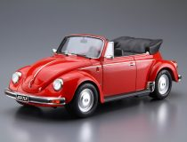 Aoshima VOLKSWAGEN 15ADK Beetle 1303S Cabriolet '75 makett