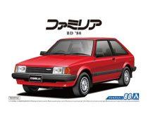 Aoshima Mazda BD FAMILIA XG '80 makett