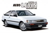 Aoshima Toyota AE85 Corolla Levin 1500SR '85 makett