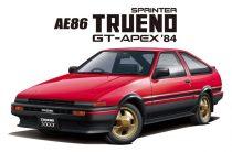 Aoshima Toyota AE86 Sprinter Trueno GT-APEX '84 makett