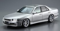 Aoshima Nissan ER34 Skyline 25GT Turbo '01 makett