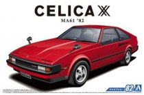 Aoshima Toyota MA61 Celica XX 2800GT '82 makett