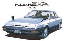 Aoshima Nissan HN12 Pulsar EXA '83 makett