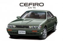 Aoshima Nissan Cefiro A31 '91 makett
