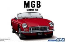 Aoshima BLMC G/HM4 MG-B MK-2 '68 makett