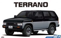 Aoshima Nissan D21 Terrano V6-3000 R3M '91 makett