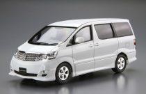 Aoshima Toyota NH10W Alphard G/V 2005 makett