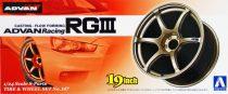 """Aoshima ADVAN Racing RGIII 19"""" kerék szett"""
