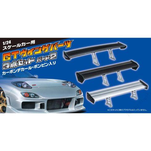 Aoshima GT WING PARTS 2 ITEM SET