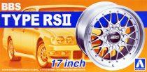 """Aoshima BBS Type RSII 17"""" kerék szett"""
