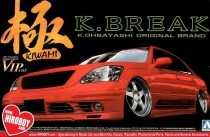 Aoshima K-Break 30 Toyota Celsior makett