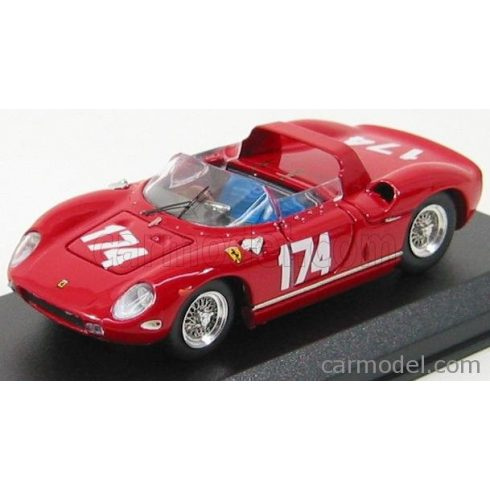 ART MODEL FERRARI 250P SPIDER N 174 TARGA FLORIO 1963 SURTEES - PARKES