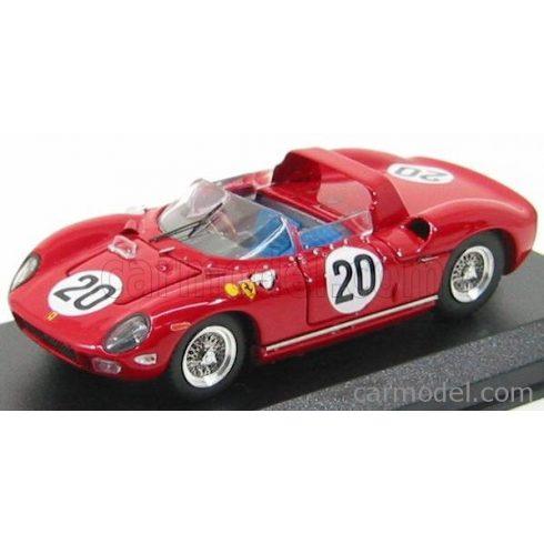 ART MODEL FERRARI 275P SPIDER 3.3L V12 TEAM FERRARI SPA SEFAC N 20 WINNER 24h LE MANS 1964 N.VACCARELLA - J.GUICHET