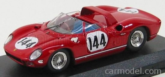 ART MODEL FERRARI 275P N 144 WINNER NURBURGRING 1964 VACCARELLA - SCARFIOTTI