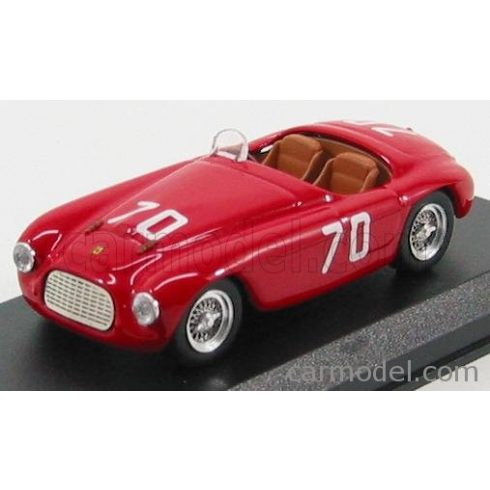 ART MODEL FERRARI 166MM SPIDER N 70 TARGA FLORIO 1952 E. GILETTI