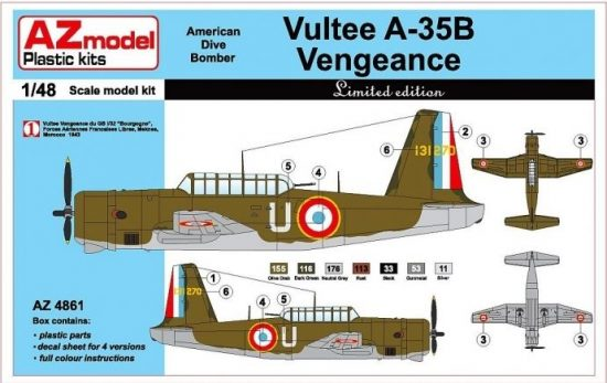 AZ Model VULTEE A-35B VENGEANCE