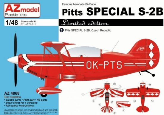 AZ Model Pitts Special S-2B makett