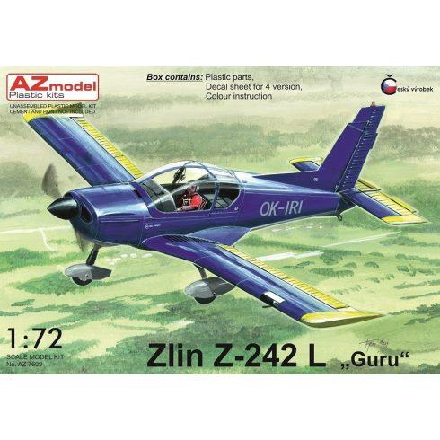 "AZ Model Zlin Z-242L ""Guru"" makett"