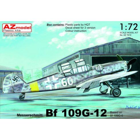 AZ Model Messerschmitt Bf-109G-12 Two-seater makett
