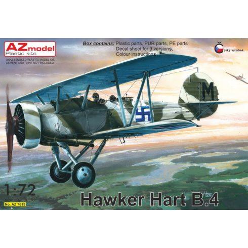 AZ Model Hawker Hart B.4 (Finland, Sweden, UK) makett