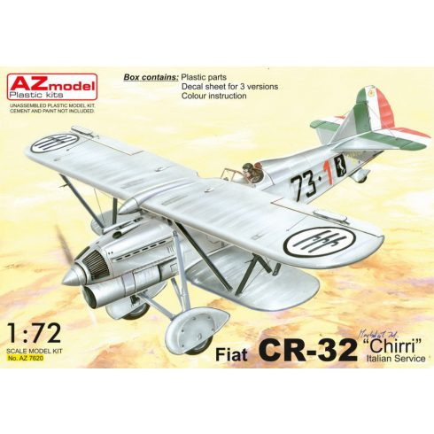 "AZ Model Fiat CR-32 Chirri ""Italian service"" makett"