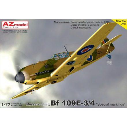 AZ Model Messerschmitt Bf-109E 'Special Markings', Pt.II makett