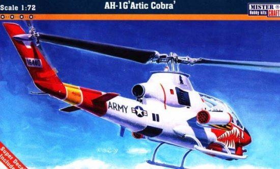 Mistercraft AH-1G Artic Cobra makett