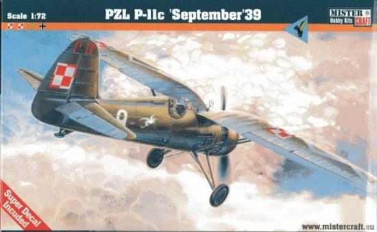 Mistercraft P-11C September 1939 makett