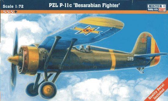 Mistercraft P-11C Romanian Air Force makett