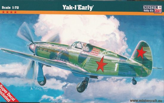 Mistercraft Yak-1 Early