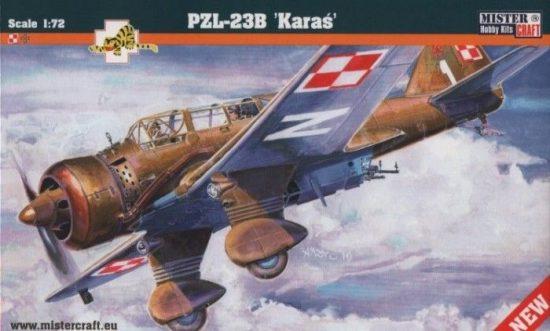 Mistercraft PZL-23B Karas makett
