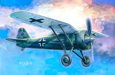 Mistercraft PZL P-7 Fahrfuhrerschule makett