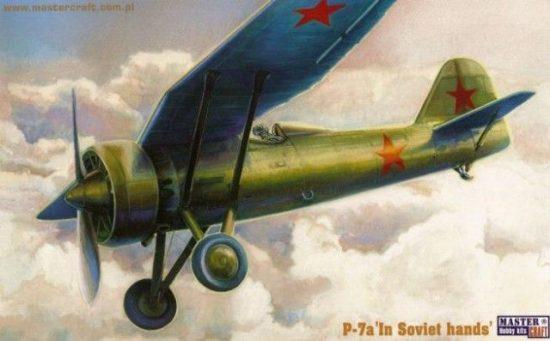 Mistercraft PZL P-7 In Soviet Hands makett