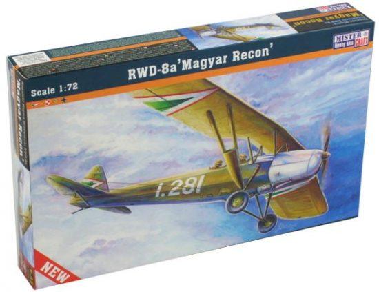 Mistercraft RWD-8 Magyar Recon makett