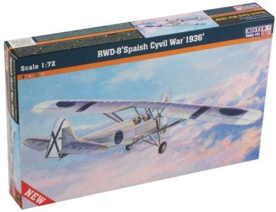 Mistercraft RWD-8 Spanish Civil War 1936 makett