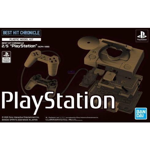 "Bandai Best Hit Chronicle 2/5 ""PlayStation"" makett"