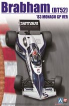 Beemax Brabham BT52 1983 Monaco GP makett