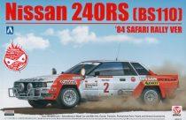 Beemax Nissan 240RS (BS110) 1984 Safari Rally makett