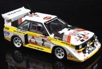 Beemax Audi Quattro S1 1985 Monte Carlo Rally makett