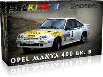 Belkits Opel Manta 400 GR. B Tour de corse 1984 makett
