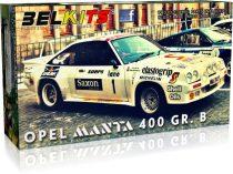 Belkits Opel Manta 400 GR. B Jimmy McRae 24 Uren van Ieper makett