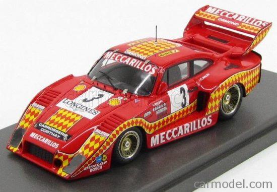 MG MODEL PORSCHE 935 3.0L TURBO N 3 1000km DIJON 1980 C.HALDI
