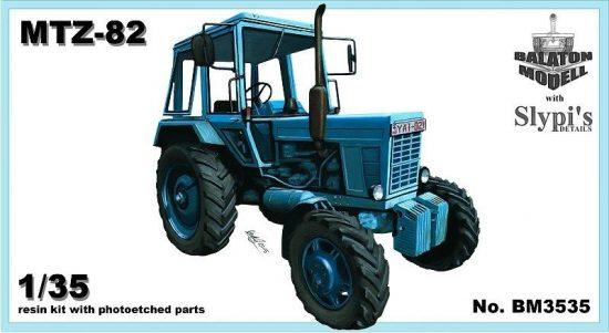 Balaton Model MTZ-82 Belarus tractor 4x4