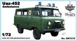 Balaton Model Uaz-452 ambulance