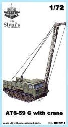 Balaton Model ATS-59G with crane