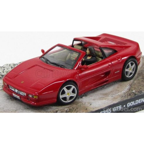 EDICOLA FERRARI F355 GTS SPIDER 1995 - 007 JAMES BOND - GOLDENEYE