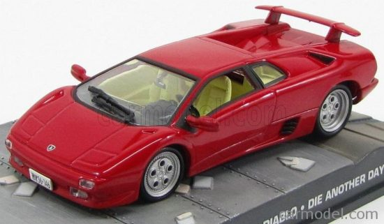 EDICOLA LAMBORGHINI DIABLO 1992 - 007 JAMES BOND - DIE ANOTHER DAY - LA MORTE PUO' ATTENDERE