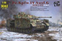Border Model Panzer IV Ausf.G Mid/Late 2in1 makett