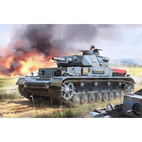 Border Model Pz.Kpfw.IV Ausf.F1 makett