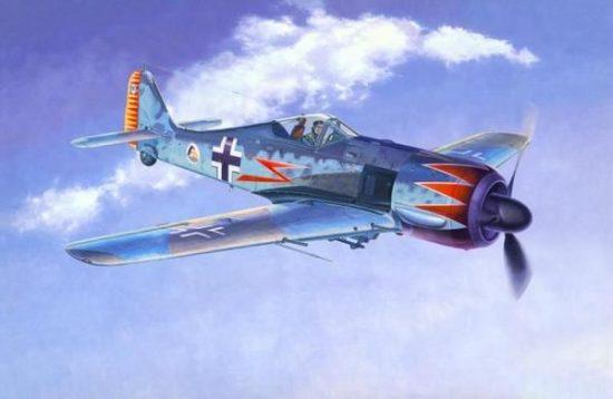 Mistercraft Fw-190A-5 Channel Coast makett